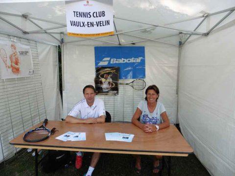 Le Tennis Club de Vaulx en Velin également pérsent pour ce forum de rentrée